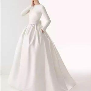 Dresses & Skirts - Custom Muslim LDS Modest longsleeved wedding gown